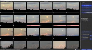 Automation of photo culling by software Camera Futura